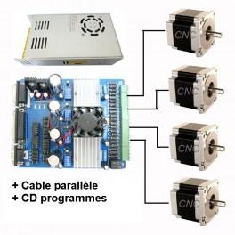 Kit parallele CNC 4 axes 2.8A