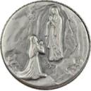 Médaille apparition de Lourdes 25mm
